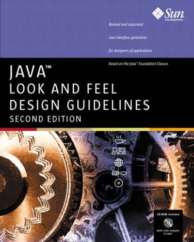 Java Look and Feel Design Guidelines, 2nd Edition