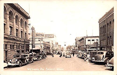 Everett, Washington vintage postcard