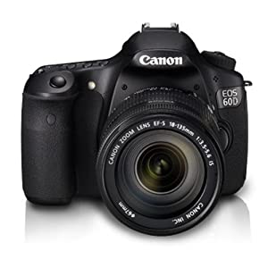 Canon EOS 60D Kit EF-S 18-135 IS 18.0MP Digital SLR Camera (Black)