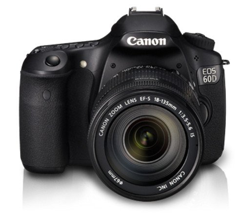 Canon EOS 60D Digital SLR Camera (Inc EF-S 18-135mm f/3.5-5.6 IS Lens Kit)