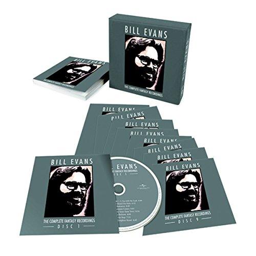CD : Bill Evans - Complete Fantasy Recordings (Boxed Set, 9 Disc)