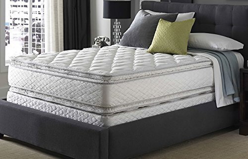 Queen Serta Perfect Sleeper Sapphire Suite Double Sided Pillowtop Mattress