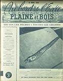 AU BORD DE L'EAU [No 59] du 15/03/1940 - LA MURENE DE MEDITERRANEE - PROPAGANDE PAR LA COCCINELLE - LE CRISTIVOMER ET SON ACCLIMATATION DANS LES EAUX VALAISANNES PAR M. VOUGA - PECHE D'AMATEUR EN MEDITERRANEE - LES SEVEREAUX - LES GIRELIERS - LES RUSQUIERS PAR GONNET - LA MOUCHE EXACTE PAR JOLY - BONNEFOY - LA PELOTE AMORTISSEUSE DANS LA LIGNE A CARPE PAR ANDRE ET LE DR SEXE - LECREUX - TONY BURNAND - CHASSE - S. DESCHELLERINS - A. ANDRIEUX.