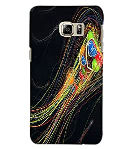 SAMSUNG GALAXY NOTE 5 EDGE HEARTS Back Cover by PRINTSWAG