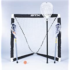 Buy STX FiddleSTX Three Player Game Set with Two Field Player Sticks One Goalie Stick... by STX