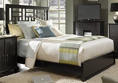 Perfect Broyhill Perspectives Bedroom Queen Lattice Low Profile Bed ue ue