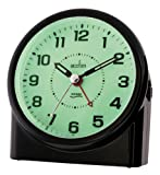 Acctim 14283 Central Smartlite Sweeper Alarm Clock, Black