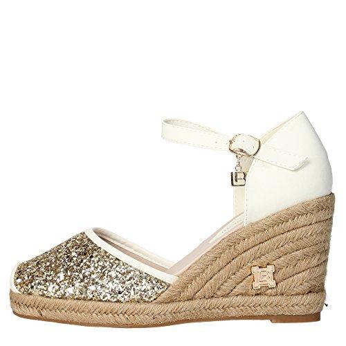 Laura Biagiotti 825 Sandalo Donna Glitter Oro Oro 37