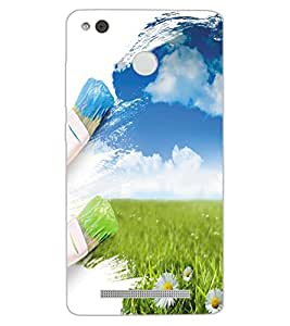 ColourCraft Creative Art Design Back Case Cover for XIAOMI REDMI 3X