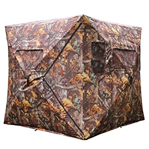 Ground Hunting Blind Tent Pop Up Zero Detect Turret Turkey Deer Duck Goose XL