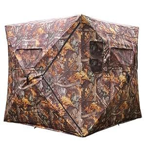 Ground Hunting Blind Tent Pop Up Zero Detect Turret Turkey Deer Duck Goose XL
