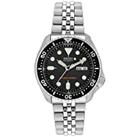 Seiko Men's SKX007K2 Diver's Automatic Watch from Seiko