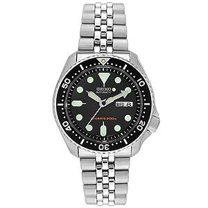 Seiko Men's SKX007K2 Diver's Automatic Watch from Seiko
