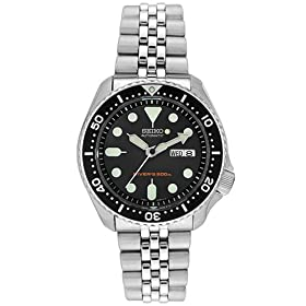Seiko Men's Diver's Automatic Watch #SKX007K2