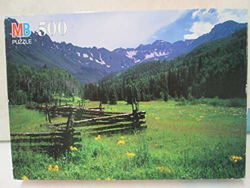 "Milton Bradley Croxley ""Uncompahgre National Forest, CO"" 500 pc Jigsaw Puzzle - 1"