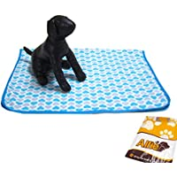 Alfie Pet By Petoga Couture - Addison Fleece Blanket For Dogs And Cats - Color: Blue, Size: S