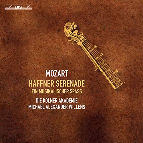 SACD : MOZART / KOLNER AKADEMIE / WILLENS - Haffner Serenade