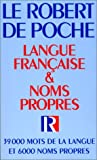 Robert French Dictionary (Robert de Poche Dictionnaire de Langue Fran�aise) (French Edition)