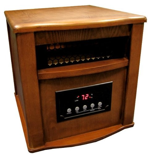 NEW LifeSmart LS1500-4 1500 Watt Infrared Quartz Heater
