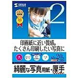 サンワサプライ インクジェット写真用紙・厚手 JP-EK5A3
