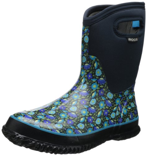 Bogs Women's Classic Mid Sweet Pea Boot