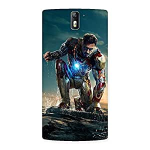 Delighted Ready to Sky Back Case Cover for One Plus One