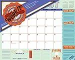 Work It! 17-Month Desk Jotter 2017