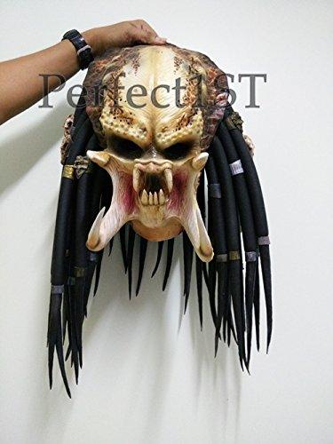 Predator Replica Mask Latex Helmet Cosplay Costume Life Size