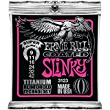 Ernie Ball 3123 Coated Titanium RPS Super Slinky 9-42 String Set