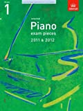 Richard Jones Selected Piano Exam Pieces 2011 & 2012, Grade 1 (ABRSM Exam Pieces)