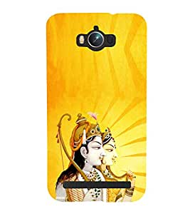 ifasho Designer Phone Back Case Cover Asus Zenfone Max ZC550KL :: Asus Zenfone Max ZC550KL 2016 :: Asus Zenfone Max ZC550KL 6A076IN ( Eagale Snake Art Tattoo New Animal Print )