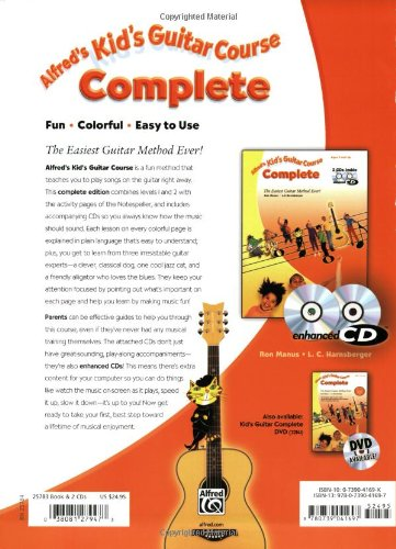 KIDS GUITAR COURSE COMPLETE BOOK/2ECD