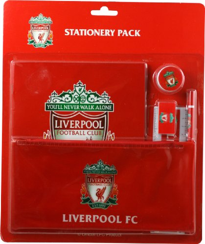 Liverpool Fc 6 Piece School Stationery Pack - Red