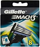 Gíllette Mach 3 Razor Refill Cartridges 8 Count