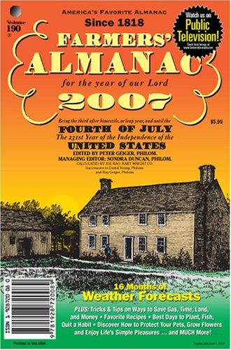 Title: Farmers Almanac 2007