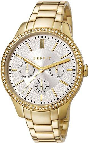 Esprit  ES107132006 - Reloj de cuarzo para mujer, con correa de acero inoxidable, color dorado