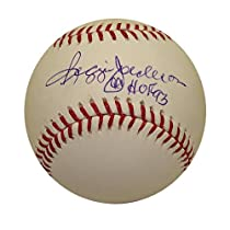 Autographed Reggie Jackson MLB Baseball Inscribed HOF (MLB Authenticated)