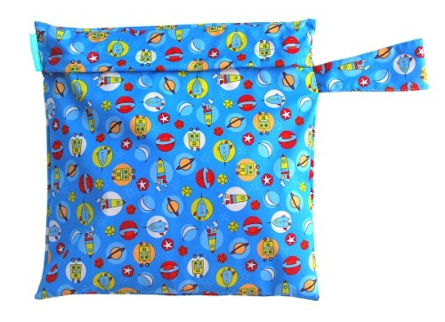 Charlie Banana Washable Diaper Tote Wet Bag (Orbit)