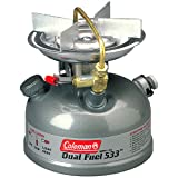 """Coleman Guide Series Compact Dual Fuel Stove,Coleman Green,7.38"""" H x 7.38"""" W x 6.55"""" L"""