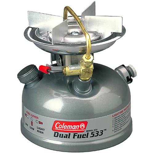 Coleman - 1-Burner Dual Fuel Sporter Ii Liquid Fuel Stove