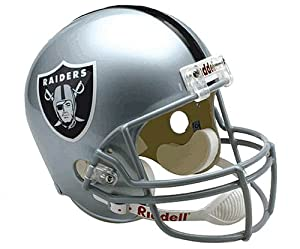 NFL Oakland Raiders Deluxe Replica Football Helmet by Riddell