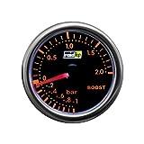 Raid HP Night Flight 660250 Turbo Boost Gauge Display Add-On Instrument / Red