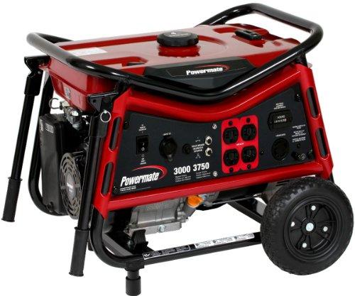 Powermate Pm0103007 Vx Power Series 3,750 Watt 212Cc Gas Powered Portable Generator
