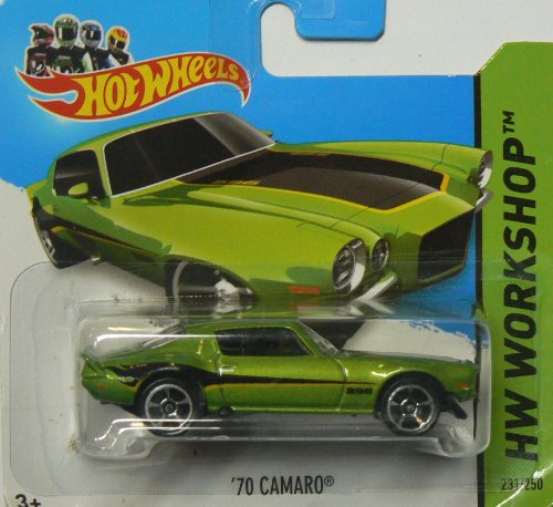 Hot Wheels HW Workshop 2014 231/250 '70 Camaro on Short Card - 1