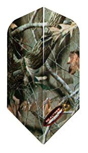 Buy 1 Set of 3 Dart Flights - 30-2814 - Realtree Camo Slim Poly Flights by Dart Brokers
