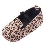 EOZY Zapatos Para Beb� Ni�as Primero Paso Andar Cinta El�stico Oto�o Pirmavera Leopardo Longitud 11cm