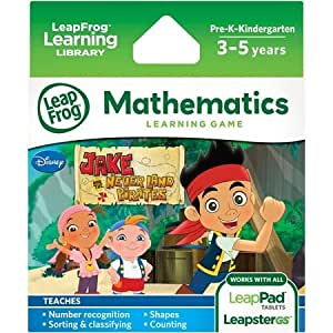 1 X LeapFrog Explorer Game: Disney Jake and the Never Land Pirates (for LeapPad and Leapster)