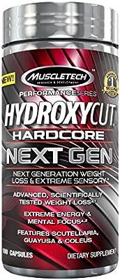 MuscleTech Hydroxycut Hardcore Next Gen Supplement
