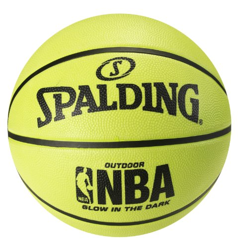 Spalding Glow in the Dark Outdoor Rubber Basketball