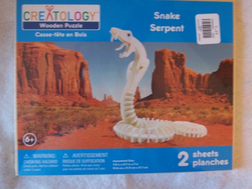 Snake Wood Craft Model Kit - 1